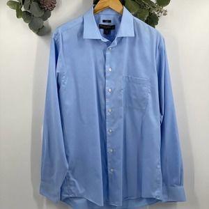Pronto Uomo | Slim Fit Dress Shirt, 17, Tall